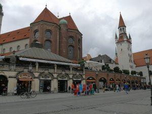 Visite de Munich sous la pluie