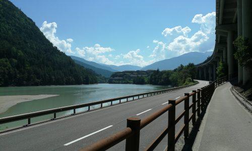 4. On traverse la frontière italienne !