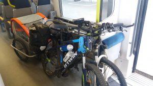 Comment prendre le train avec un vélo ?