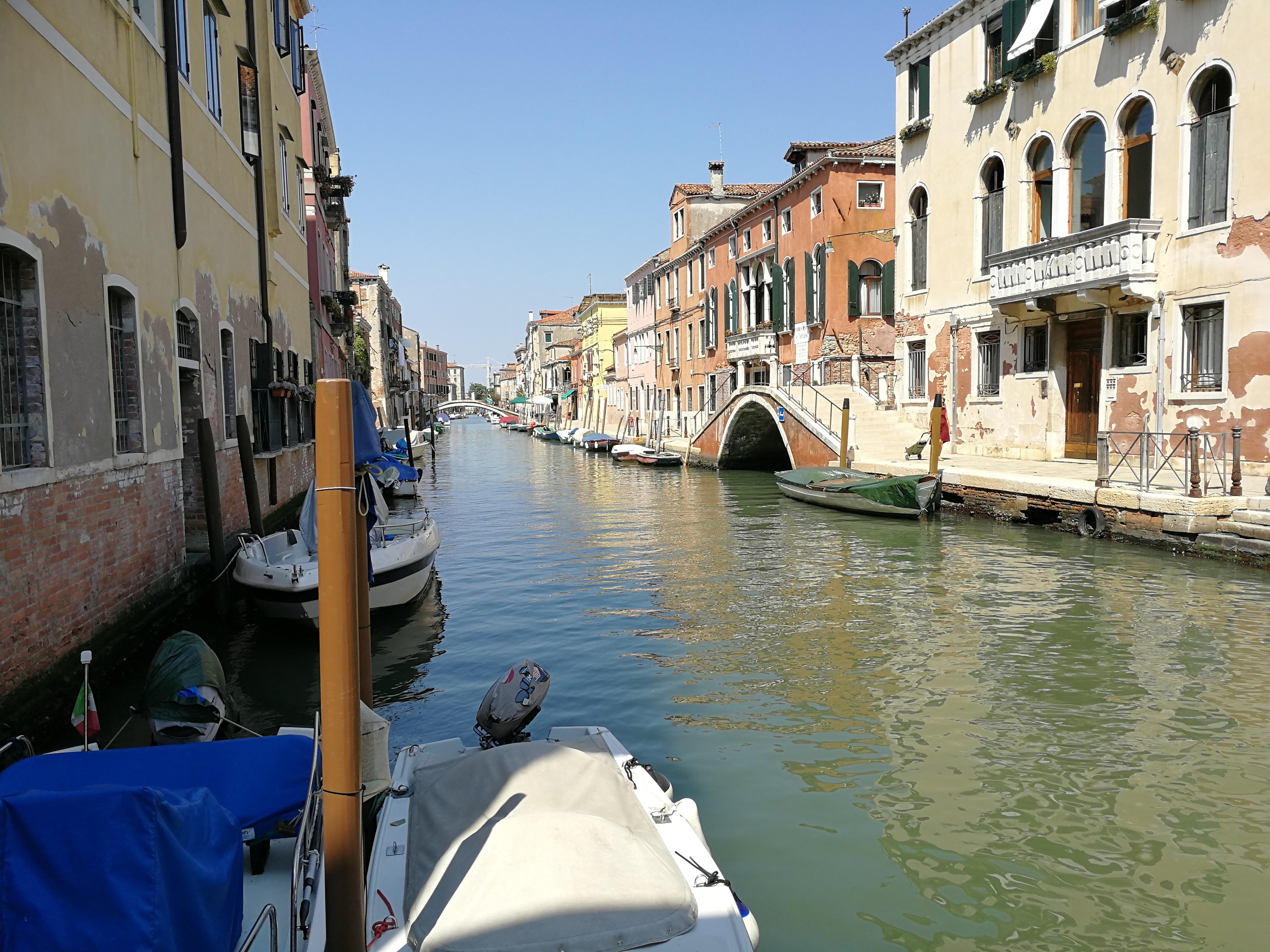 Deux touristes à Venise