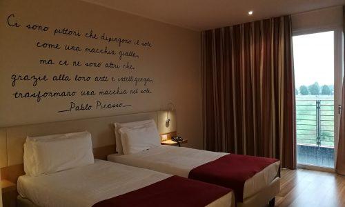 10. Nous dormons dans un hôtel 4 étoiles !