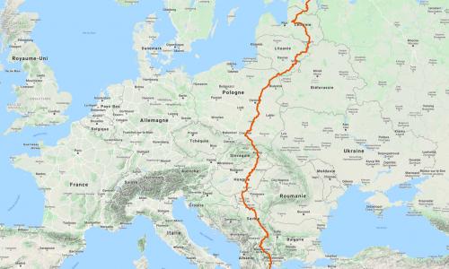 Comment préparer un itinéraire ?