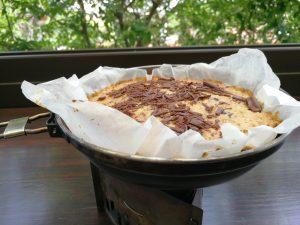 Recette de voyage: gâteau aux flocons d'avoine