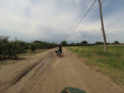 Petit passage par une piste